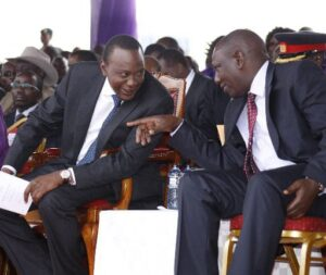 President Uhuru and Ruto long meeting that led to disclosure of graft probe list