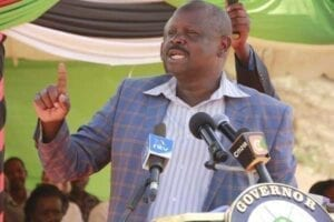 Row erupts between Governor Ruto and county Speaker over budget