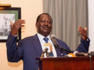 Raila irked by speaker Muturi for not recognizing him in Parliament