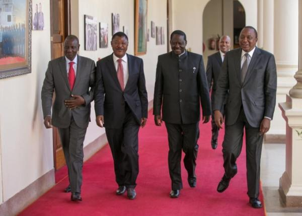 Uhuru and Raila strike deal on IEBC talks