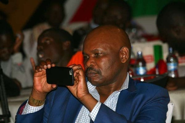 Prof. Makau Mutua attending the Launch of Kura Yangu Sauti Yangu at Intercontinental Hotel in Nairobi on May 15, 2016. He has joined the race for the post of Kenya's next Chief Justice as the deadline for submission of applications was extended. PHOTO   EVANS HABIL   NATION MEDIA GROUP