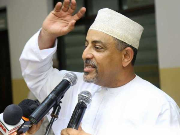 A file photo of Mombasa Jubilee politician Suleiman Shahbal.