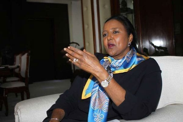 Foreign Affairs and International Trade CS Amina Mohamed, when she spoke with the Nation on the Tokyo International Conference on African Development on August 25 2016. CS Mohamed says Tanzania leader John Magufuli was well represented at Ticad meeting. PHOTO | ANTHONY OMUYA | NATION MEDIA GROUP