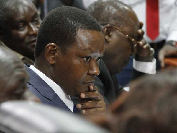 Machakos Governor Alfred Mutua during a past appearance before the Senate Legal Affairs Committee. /MONICAH MWANGI