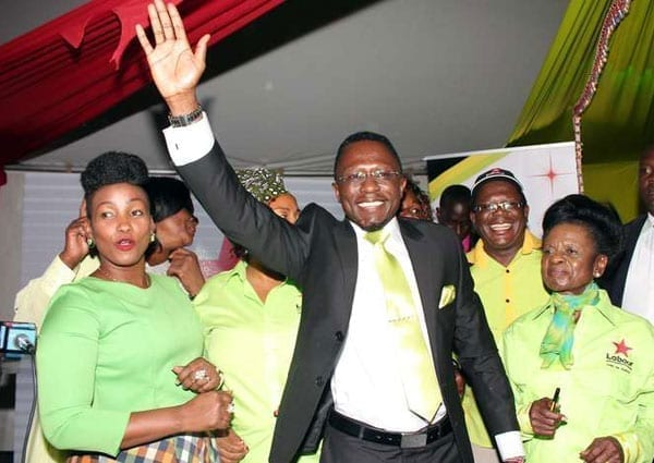 Labour Party leader Ababu Namwamba during the relaunch of the party at Mamba Village on September 22, 2016. Mr Namwamba is said to have identified dozens of aspirants whom the party intends to back for various elective positions across the country. PHOTO | DENNIS ONSONGO | NATION MEDIA GROUP