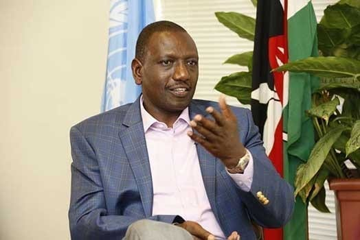 DP William Ruto gestures during a past interview. PHOTO | DPPS