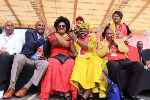 Some of the lawmakers attending the Jubilee