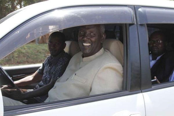 Narok Senator Stephen ole Ntutu, who stormed the Narok Police Station on Thursday to protest a police report implicating a man said to be his son in a shooting on September 28, 2016.