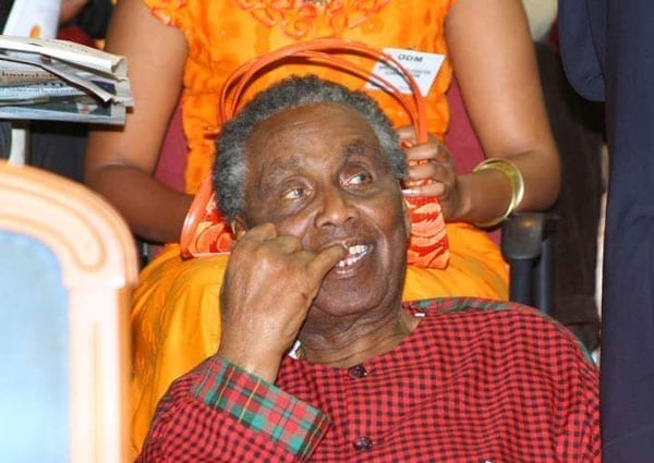 William Ole Ntimama during the ODM national delegates conference at Kasarani Stadium on January 9, 2007. He considered his tenure as Minister for Local Government the most illustrious. PHOTO | MARTIN MUKANGU | NATION MEDIA GROUP