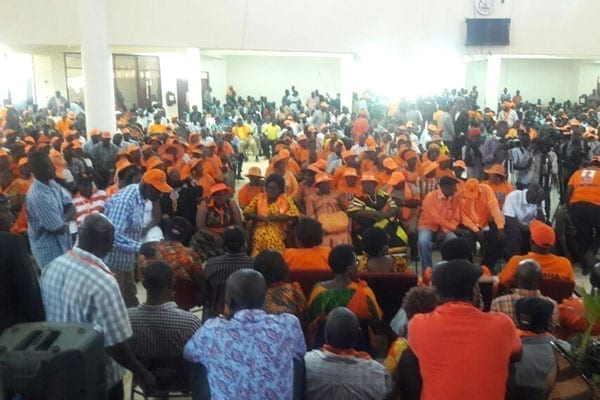 ODM meeting meeting is at Citam Hall in Kisumu. PHOTO | NATION MEDIA GROUP.