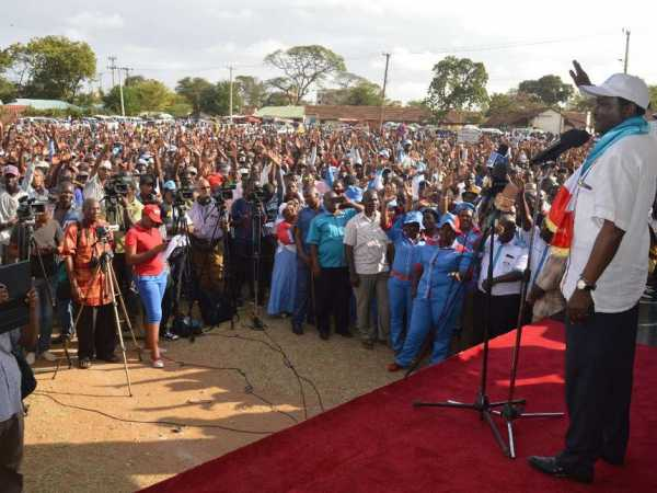 Kalonzo Gets Wiper Presidential Candidate Endorsement