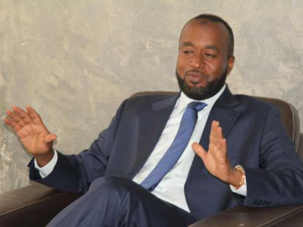 Mombasa Governor Hassan Joho during a past media briefing. /FILE
