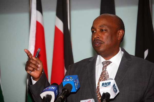 Government Spokesperson Eric Kiraithe, who has