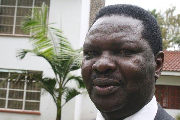 Cord Minority Leader Francis Nyenze. An attempt to reorganise the committees in the National Assembly was scuttled Tuesday evening after the Cord coalition protested saying the lists had been changed at the last minute to its disadvantage October 1, 2013. FILE