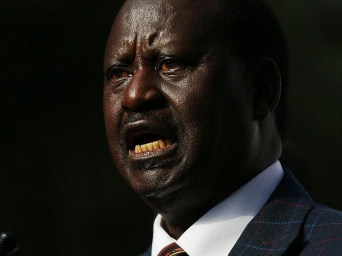 NASA Coalition leader Raila Odinga made decision to challenge the 2017 Presidential Election results at the Supreme Court during the press conference at Okoa Kenya office in Nairobi on August 16, 2017. Photo/Jack Owuor
