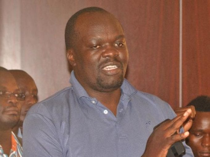 Blogger Robert Alai who was arrested and detained at Kamukunji police station on Friday, August 18, 2017. /FILE