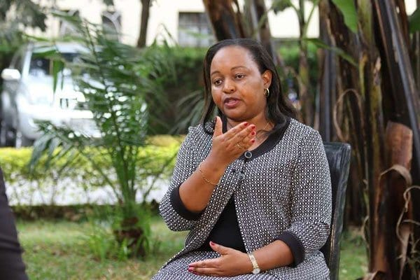 Former Devolution CS Anne Waiguru during an interview with the Nation on August 30, 2016. She is eyeing the Kirinyaga governor's in next year's elections. PHOTO | WILLIAM OERI | NATION MEDIA GROUP