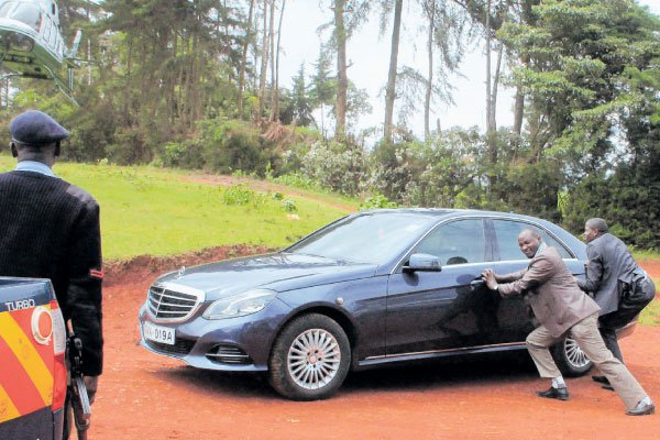 What security men assigned to guard Kenya VIPs go through