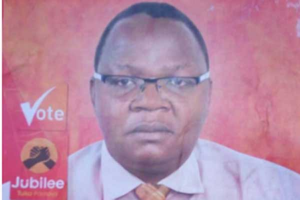 Jubilee candidate for Kitutu Chache South