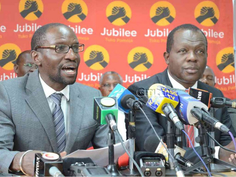 CONFUSION as Jubilee HQ refutes postponement of party primaries