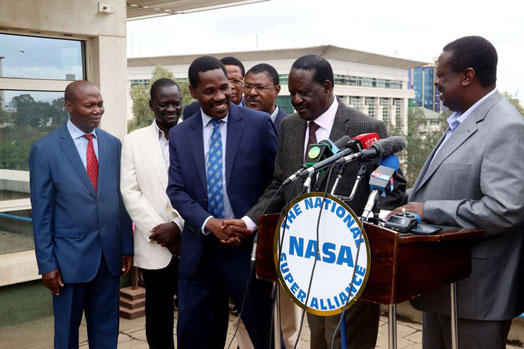 Image result for Raila reveals why former Meru Governor Peter Munya ditched NASA for Jubilee