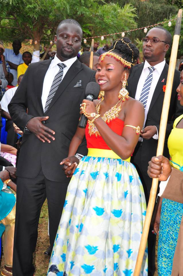 Images of anne kansiime wedding