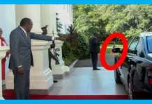 REVEALED WHAT UHURU WAS DOING BEFORE LEAVING FOR INAUGURATION
