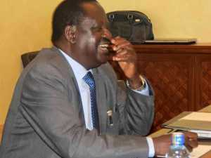 Raila's planned swearing-in a total waste of time and null