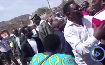 VIDEO: Miguna Miguna Chased Away By Governor Samboja's Supporters