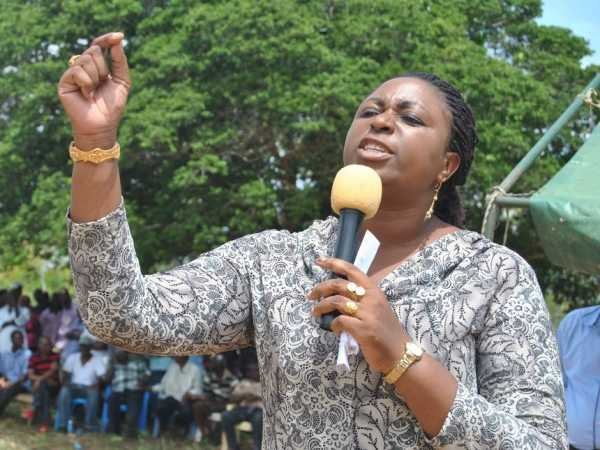 A file photo of Kilifi woman representative AIsha Jumwa. Photo/ALPHONCE GARI