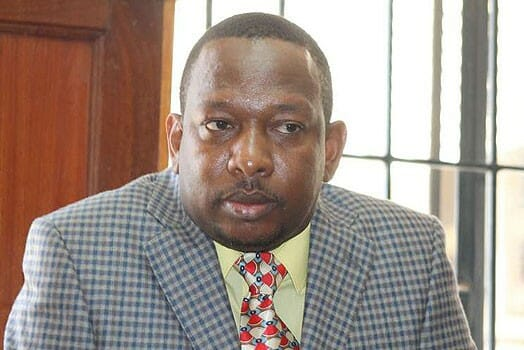 Nairobi Senator Mike Sonko. He has expressed interest in the Nairobi gubernatorial seat. PHOTO | FILE