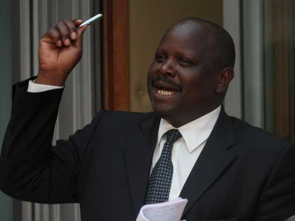 Bomet Governor Isaac Rutto
