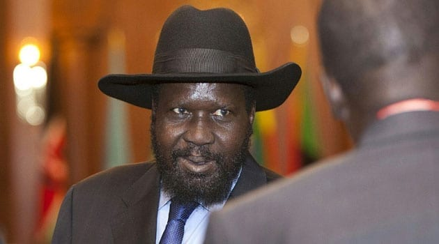 In an interview with CCTV Africa, Kiir told Robert Nagila that he put his own life at risk to protect Vice President Riek Machar when gunfire was heard outside the palace as they held a meeting/FILE