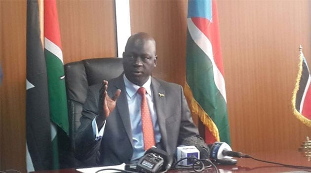 South Sudan Ambassador Chol Ajongo alleged that James Gatdet informed the army that Machar had been detained at the President's palace/CFM NEWS