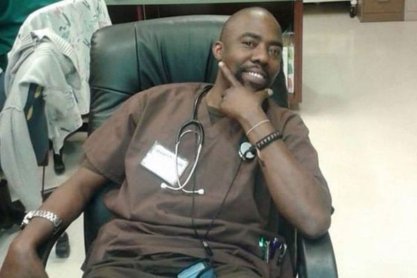 Kennedy Odhiambo, 38, suffered serious injuries after an American man attacked him and stabbed him 37 times at his home in Arlington, Texas, about 30 miles (48km) west of Dallas. PHOTO | COURTESY |