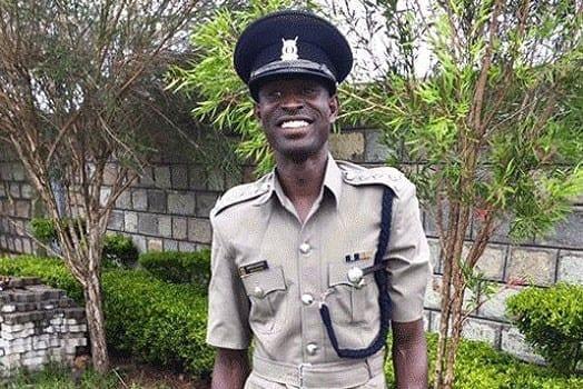 Chief Inspector David Lekuta Rudisha. PHOTO   COURTESY