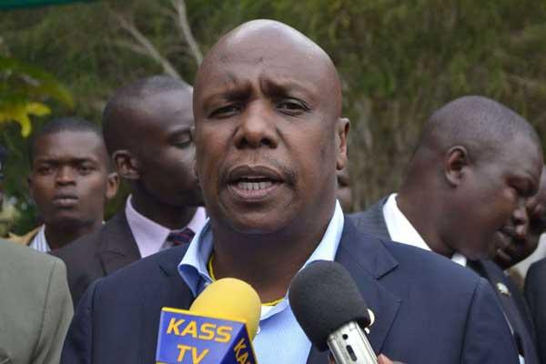 Baringo Senator Gideon Moi. Devolution CS