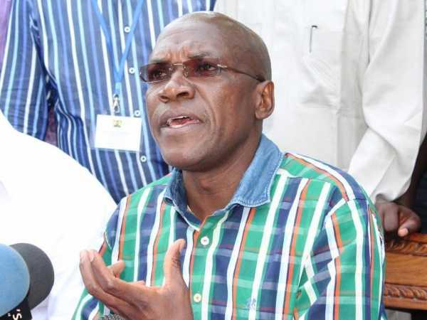 A file of Kakamega Senator Bonny Khalwale. /ANDREW KASUKU