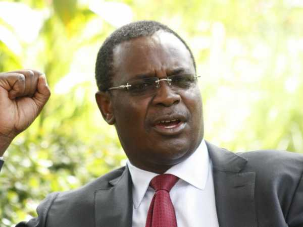 Nairobi Governor Evans Kidero during a past interview /FILE