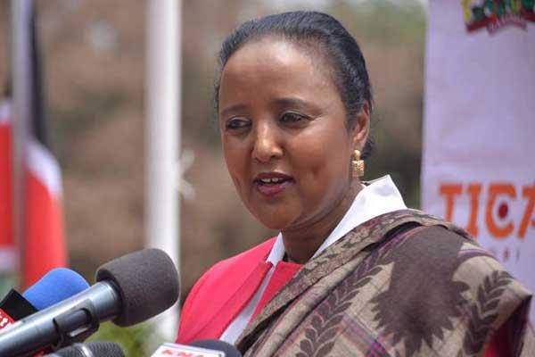 Foreign Affairs Cabinet Secretary Amina