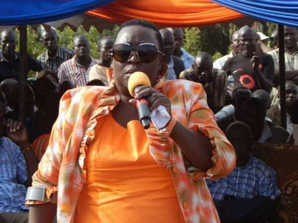 Kisumu deputy governor Ruth Odinga at a past function. /FILE