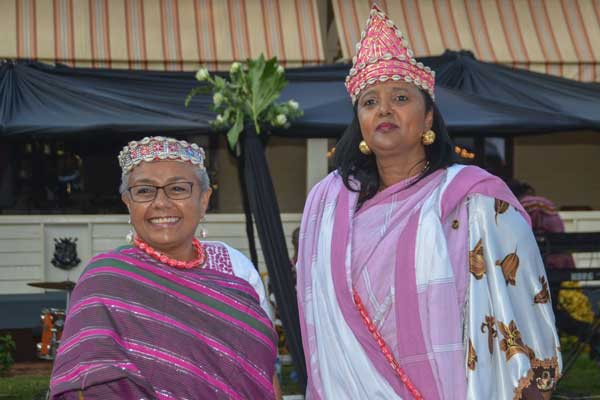 First Lady Margaret Kenyatta and Foreign