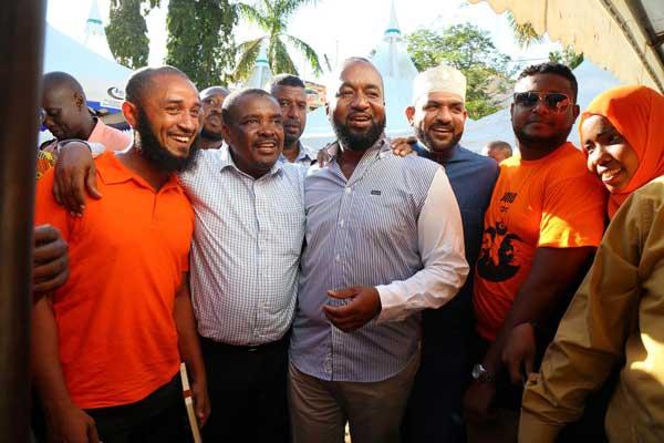 Mombasa Governor Hassan Ali Joho meeting ODM