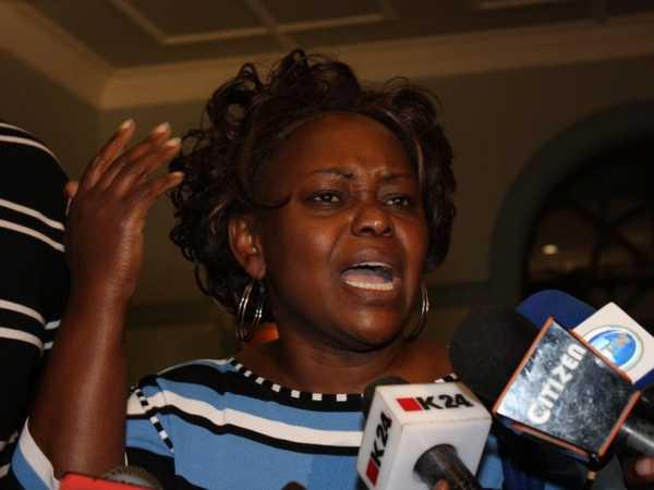 Mbita MP Millie Odhiambo. /FILE