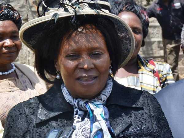 A file photo of Othaya MP Mary Wambui. / WAMBUGU KANYI