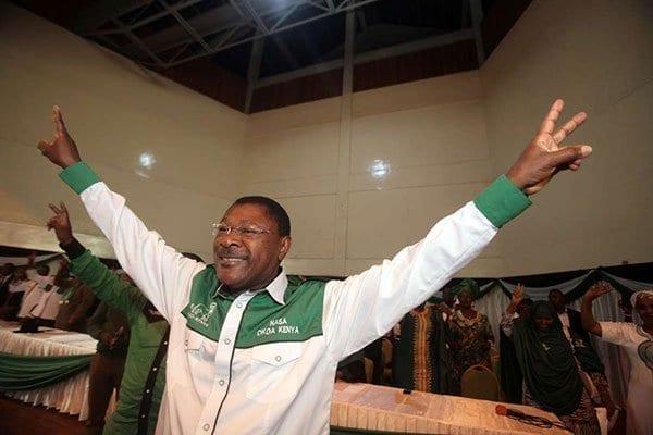 Nasa co-principal Moses Wetang'ula.