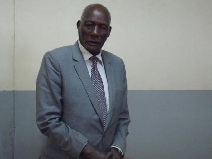 Politician cum farmer Jackson Kibor during his cross-examination by his wife Josephine Jepkoech's lawyer Amos Magut, June 14, 2017. /MATHEWS NDANYI