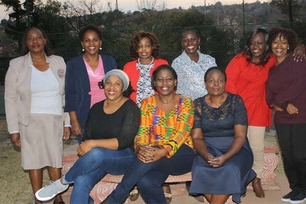 Upendo Women Investment group members in South