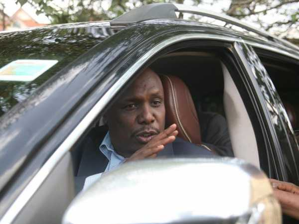 KANU chairman Gideon Moi during as past national executive council meeting in Nairobi. /FILE