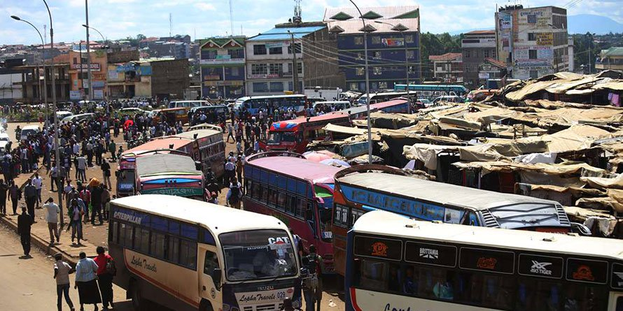 Githurai Estate, one of the areas where the Immigration boss says some of the foreigners suspected to hold expired visas live. PHOTO | FILE